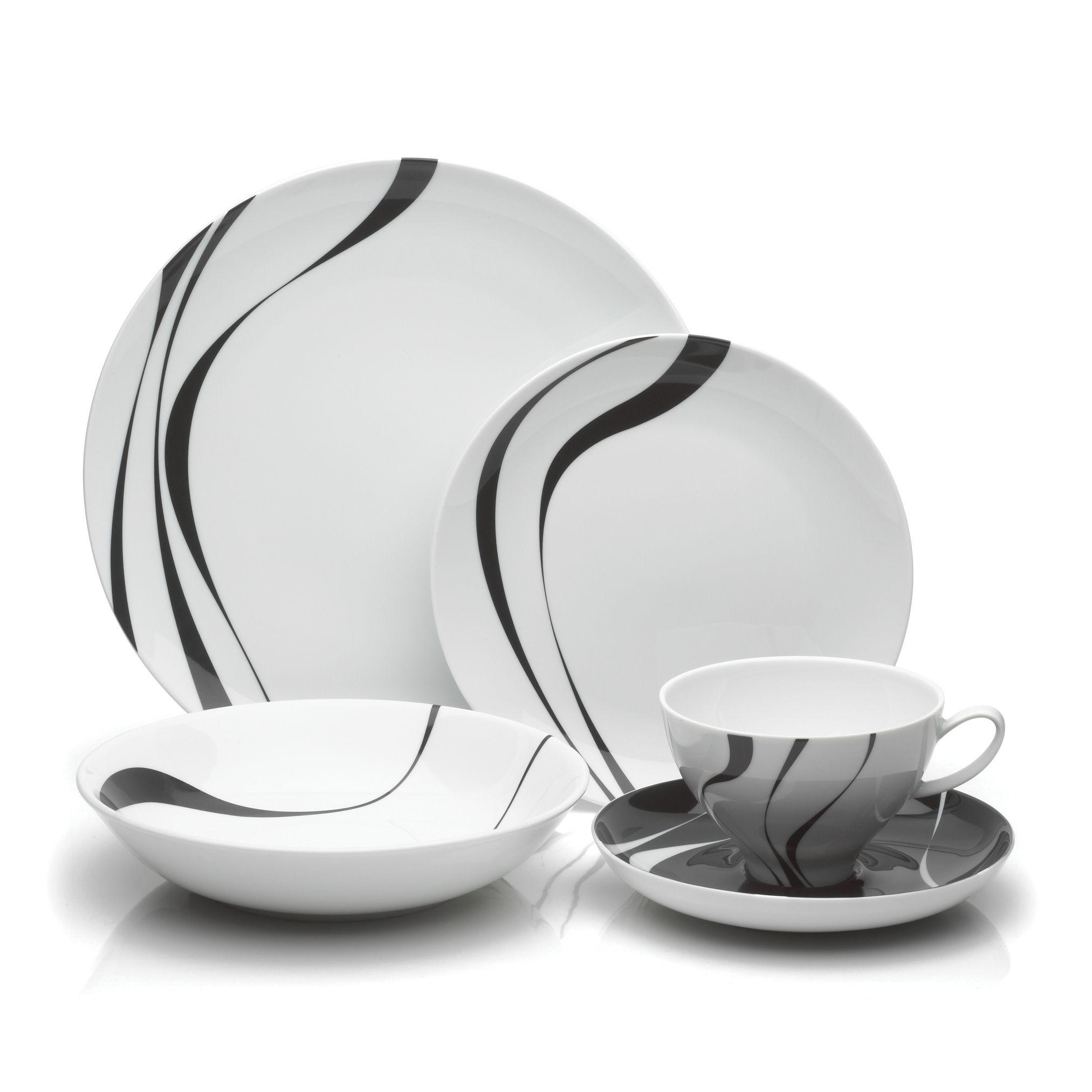 Mikasa u0027Jazzu0027 5-piece Dinnerware  sc 1 st  Pinterest & Mikasa u0027Jazzu0027 5-piece Dinnerware | Mikasa Dinnerware and Pottery