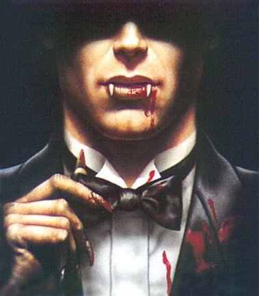 Vampires are gentlemen; zombies are not.