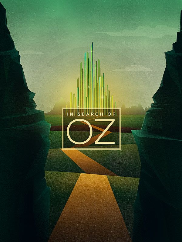 In Search Of Oz - Digital graphics and illustrations.