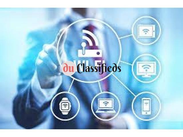 Best wifi internet router setup 0556789741 technician in Jumeirah