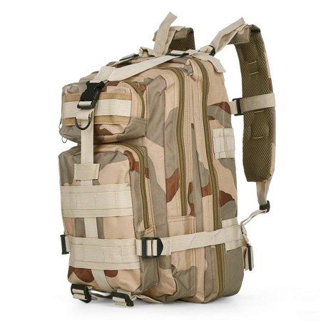 40L Outdoor Hiking Camping Bag Army Military Tactical Trekking Rucksack Backpack