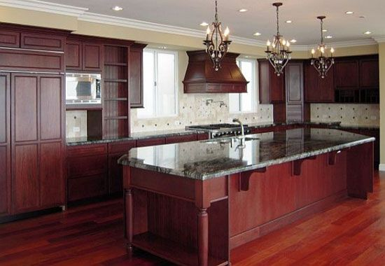 Kitchen Paint Colors With Dark Cherry Cabinets Ideas Cherry