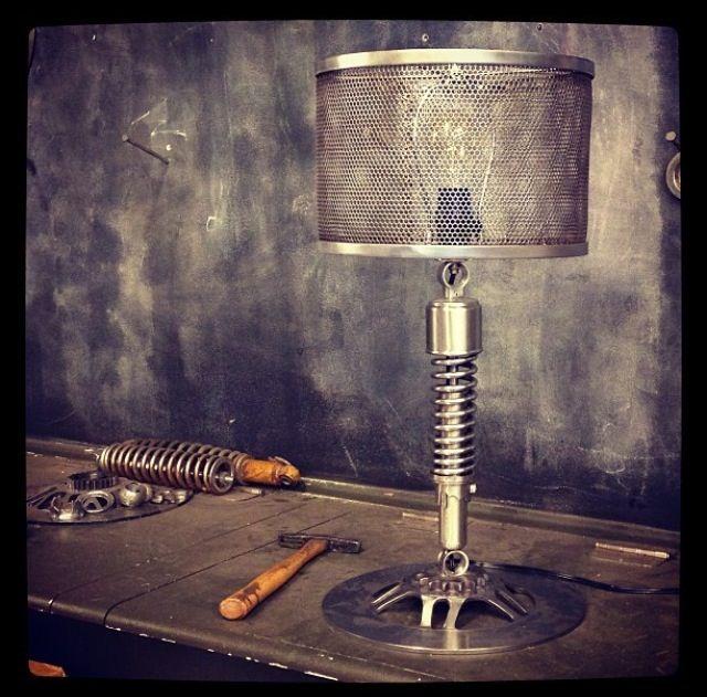 Custom Metal Mesh Shade Lamp Custom Metal Table Lamp Shades