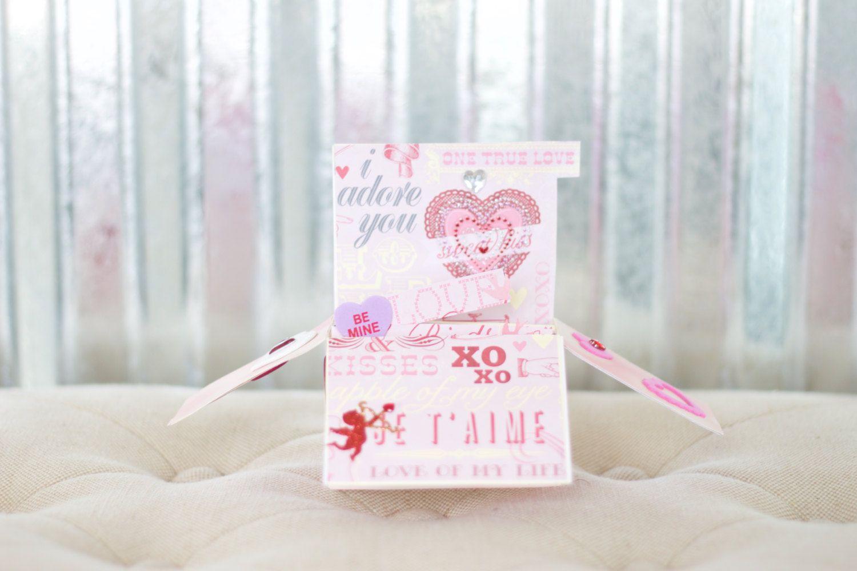 New to RycesPiecesKnits on Etsy: Handmade Valentine Card (10.00 USD)