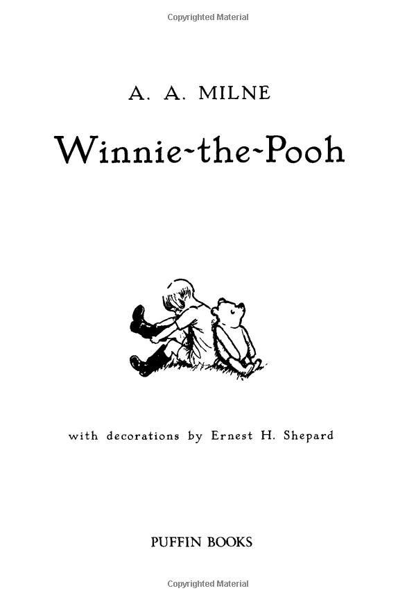 winnie the pooh puffin modern classics