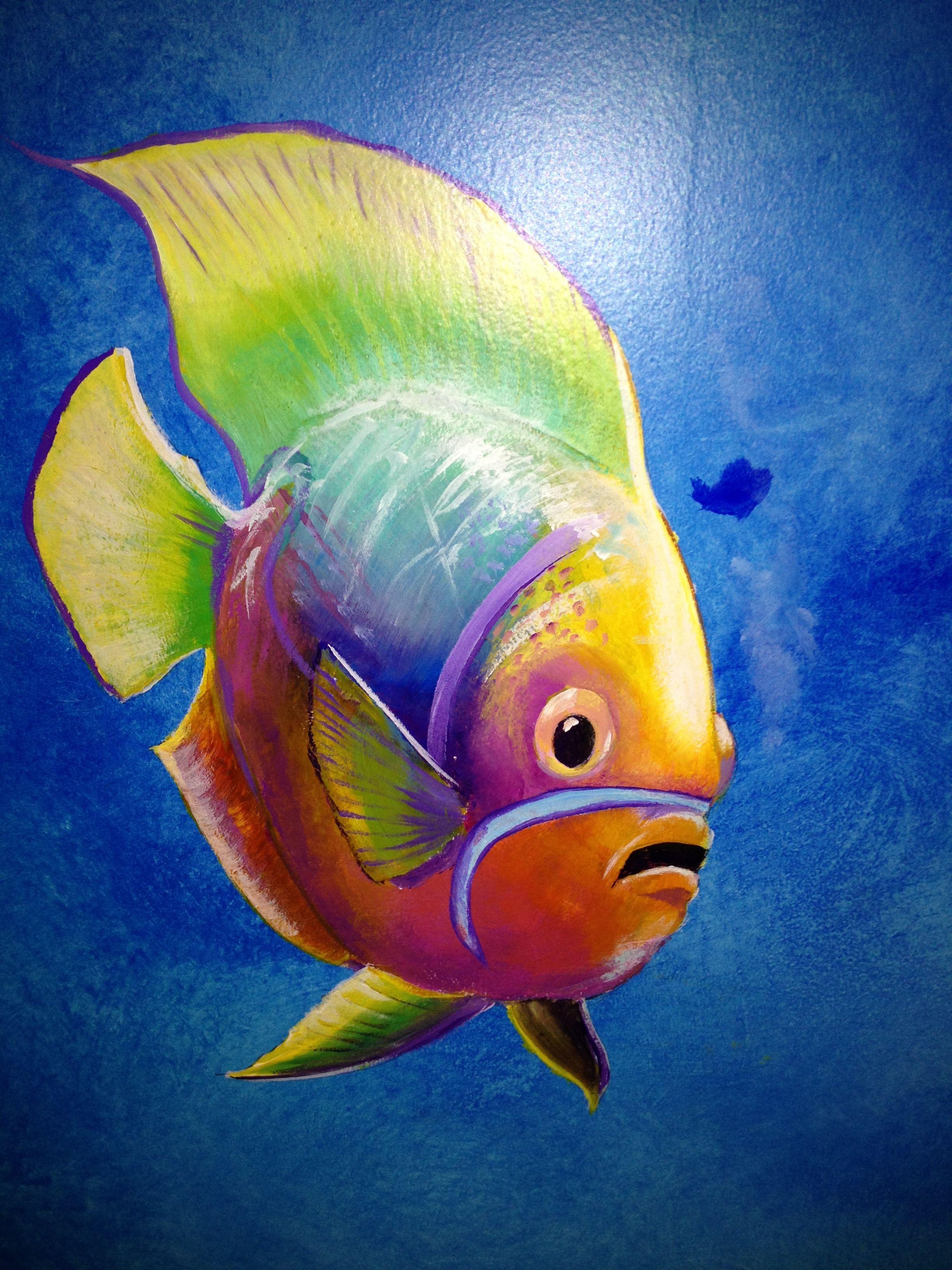 Tropical fish! | Fish art, Fish drawings, Fish painting