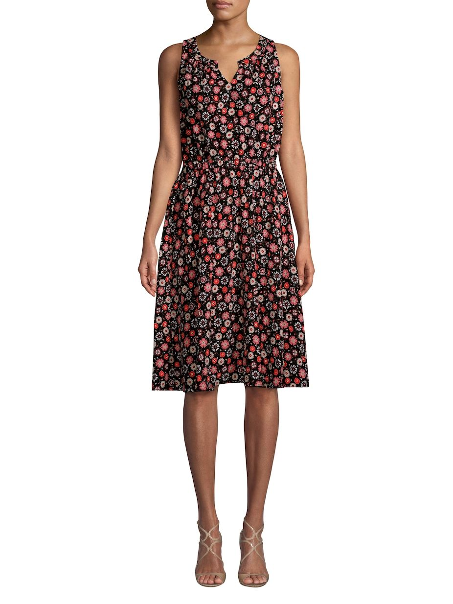 81c1bf9f074 Kate Spade New York Floral A-Line Dress