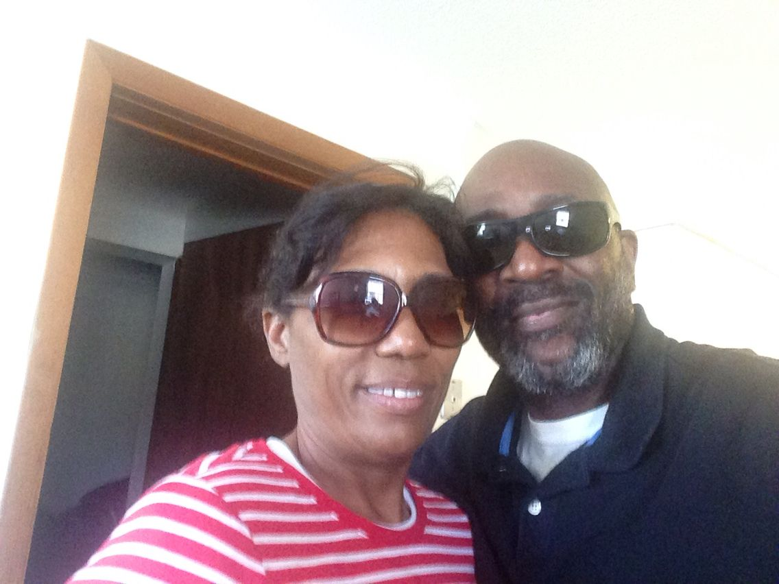Me and my beautiful wife at Mohegan sun casino