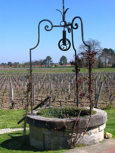 Vines Chateau Pape Clement Outdoor Water Features Water Well Garden Projects