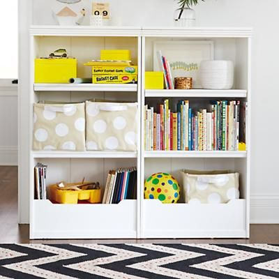 Kids Bookcases White Flat Top With Adjule Shelves Bookcase In The