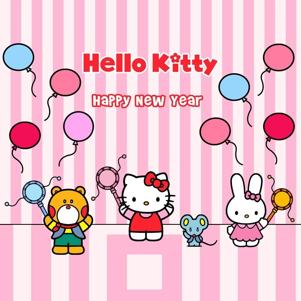 sanrio hello kitty happy new year
