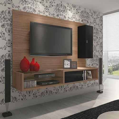 Rack Para Sala Pequena ~ sala pequena decorada  Pesquisa Google  Casa  Pinterest  Tv units