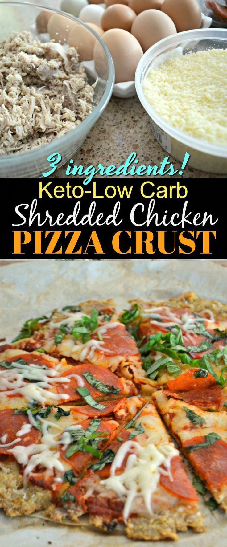 Photo of This Simple 3-Ingredient Chicken Pizza Crust is the Best #AL…