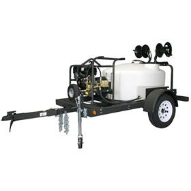 Shark TRS-2500-B Commercial 5000 PSI Belt-Drive (Gas-Cold Water) Trailer Pressure Washer at Pressure Washers Direct includes free shipping, a factory-direct discount and a tax-free guarantee.