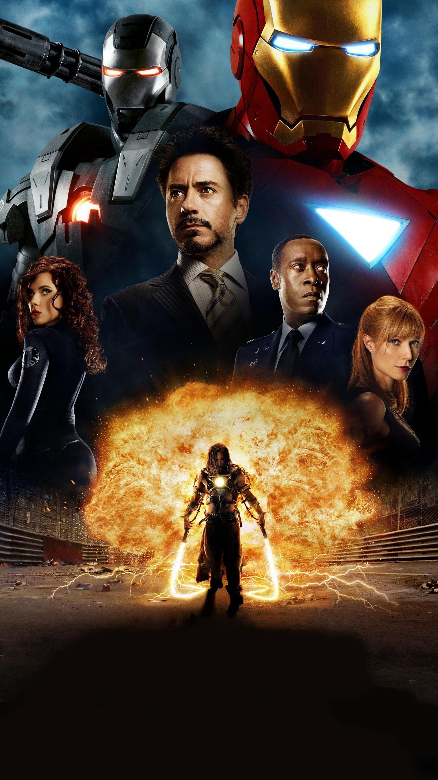 Iron Man 2 2010 Phone Wallpaper Moviemania Filme Plakat Marvel Iron Man