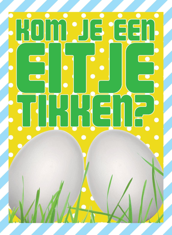 Kom je een eitje tikken?