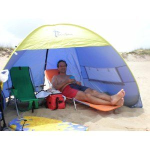 size 40 49d00 a86ae Shade Shack Instant Pop Up Family Beach Tent and Sun Shelter ...