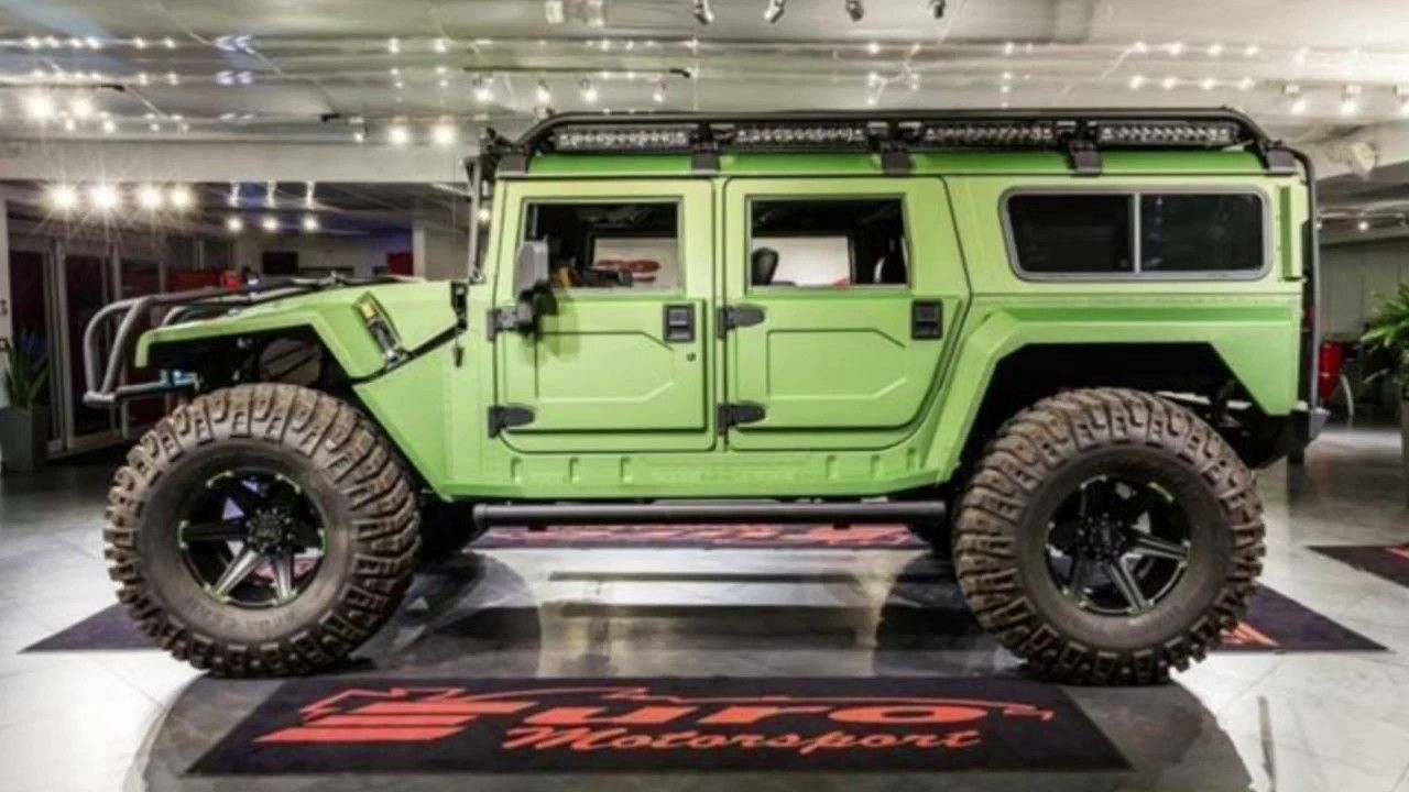 The Best Hummer H1 Enclosed Ever Made For 289 950 Rc4wd