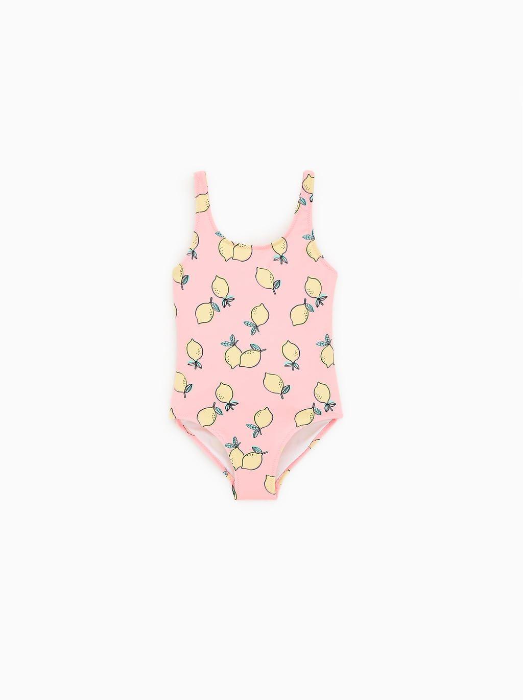 a5adfa322ad9 Bañador limones   @Niñas 2019   Moda de bebés niña, Bañadores y Moda ...