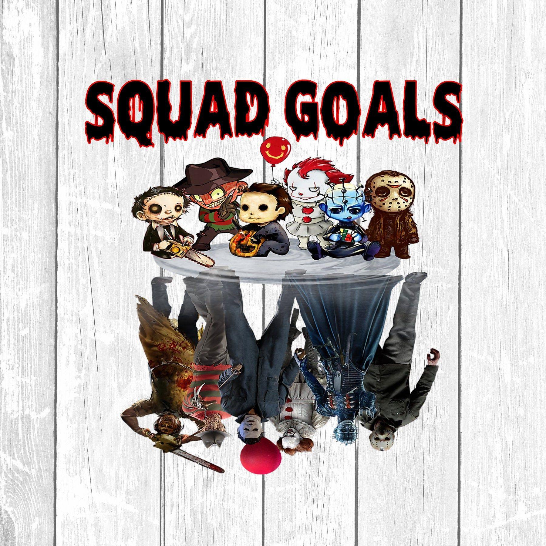 Jason and Friends Squad Goals Sublimation, Instant