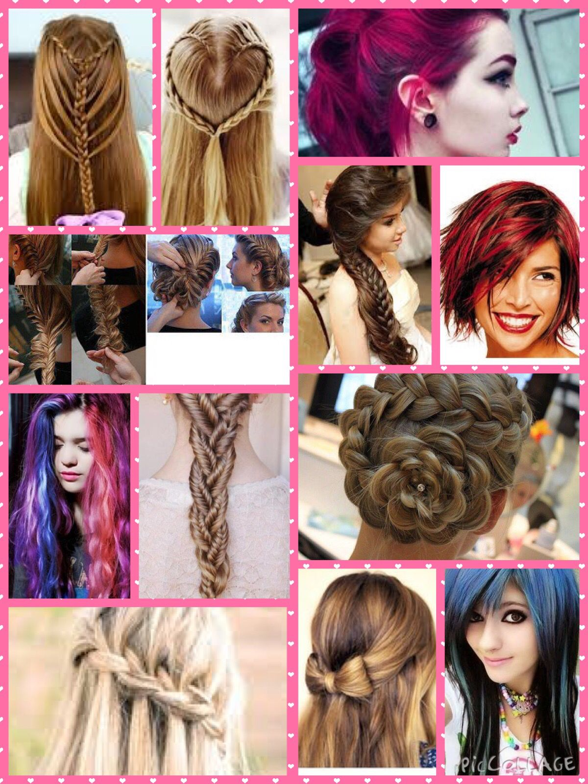 This Is A Collage I Made Beauty Hair Styles Beauty Women