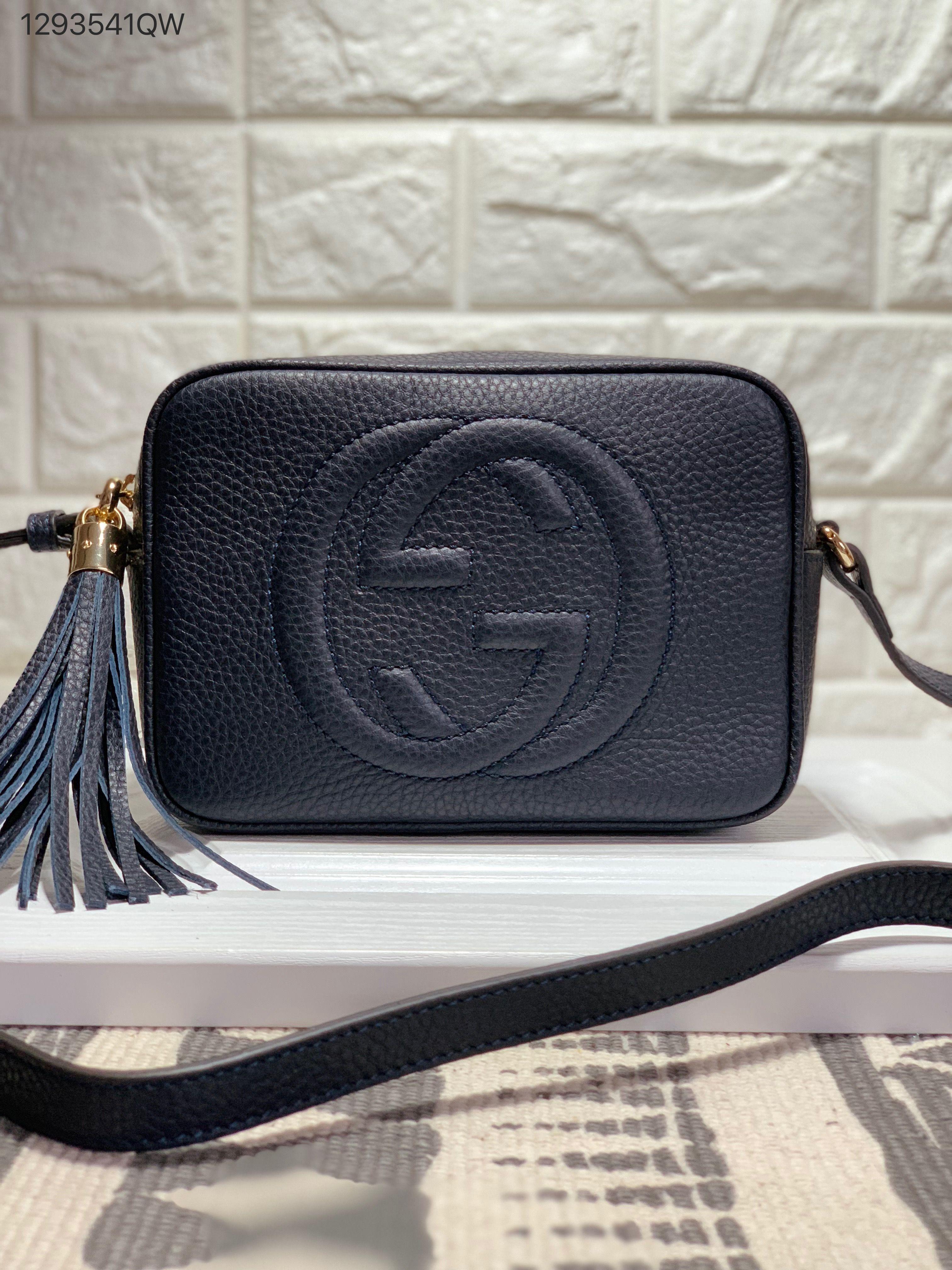 b2065c0d724d Gucci soho disco cross body camera bag navy blue | Gucci bags in ...