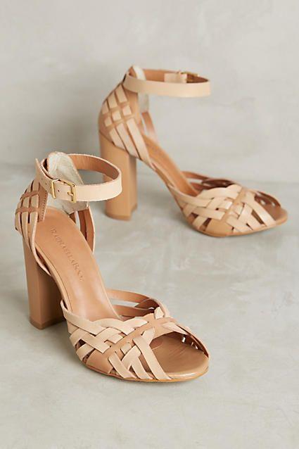 247fc2277e7 Raphaella Booz Woven Heels