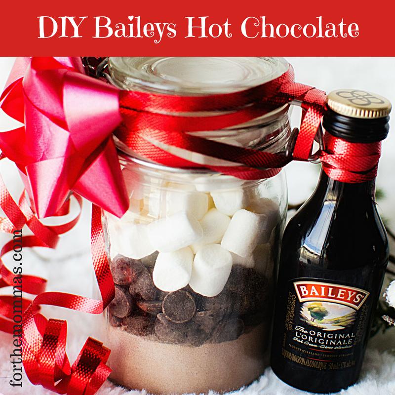 DIY Baileys Hot Chocolate Gift Recipe & Directions + Free Printable – FTM