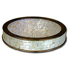Mother of pearl mosaic sink - BEAUTIFUL!!!!