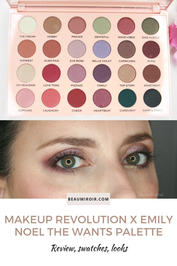 Makeup Revolution The Emily Edit The Wants Eyeshadow
