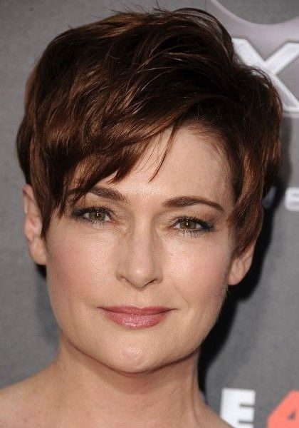 Short Haircuts For Women Over 50 With Square Faces Short Womens Hairstyles Hair Styles Hairstyle