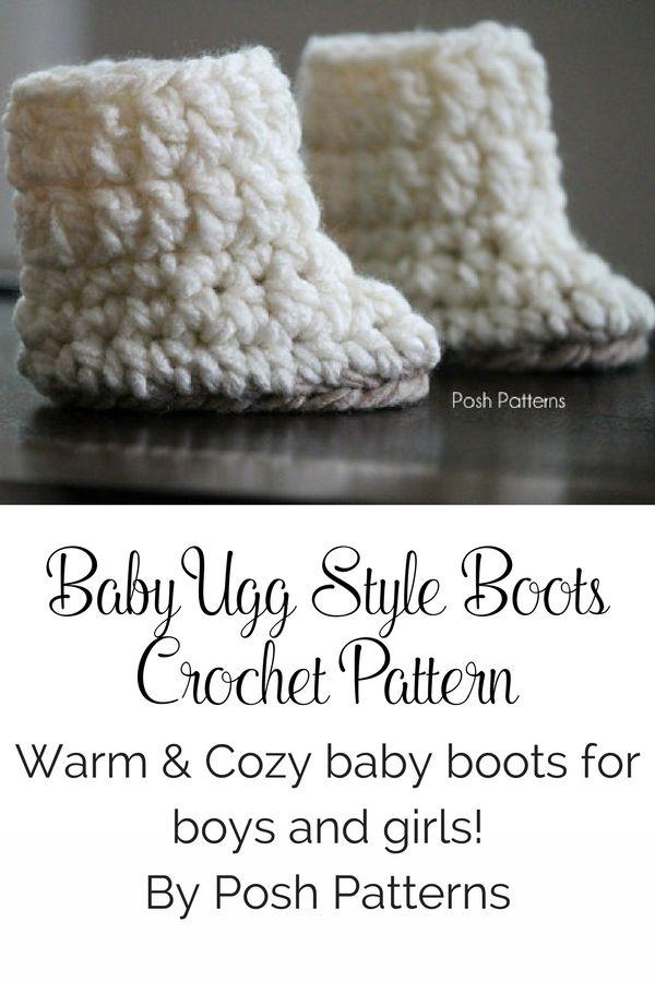 Crochet Pattern Crochet Baby Boots Pattern Baby Booties Crochet