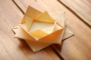Abstract Origami Lotus