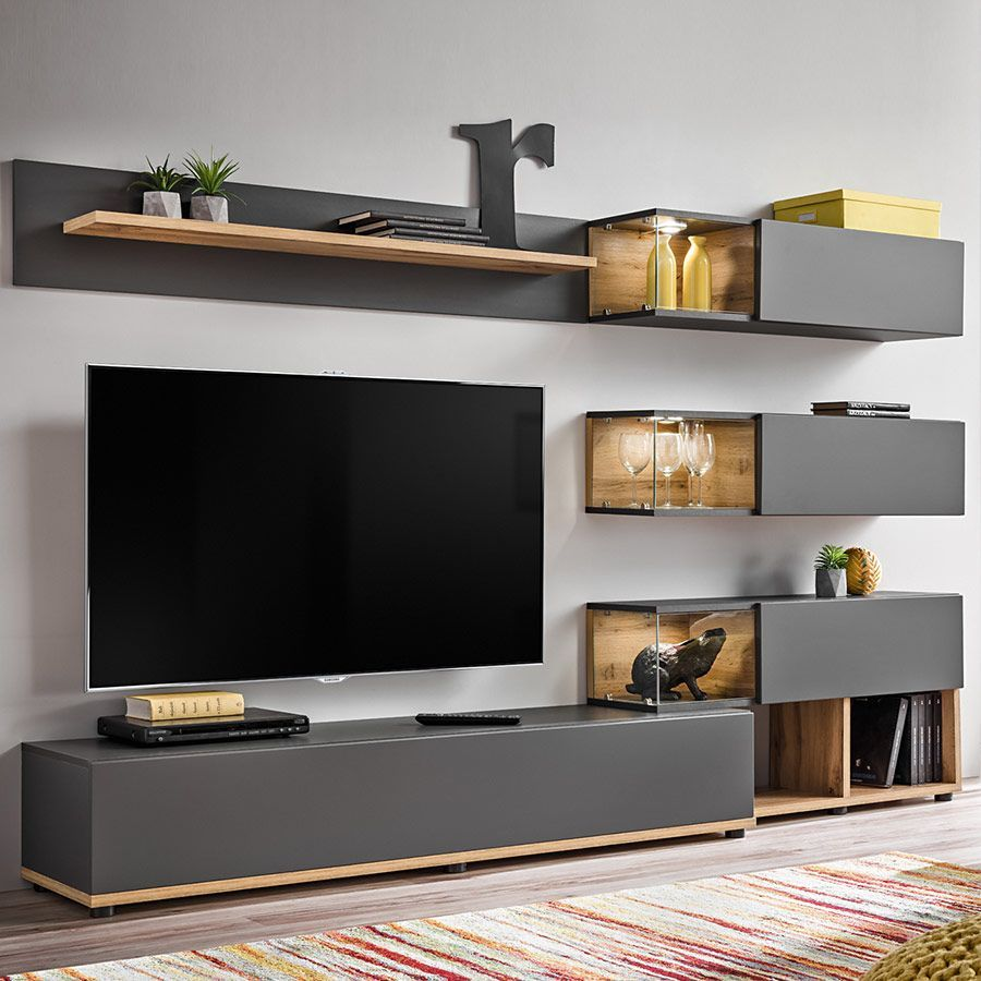 Epingle Sur Decor Mural Tv