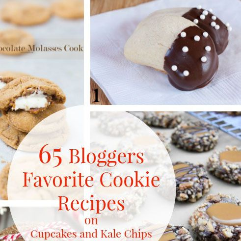 65 Bloggers Favorite Cookie Recipes Cookie recipes, Christmas