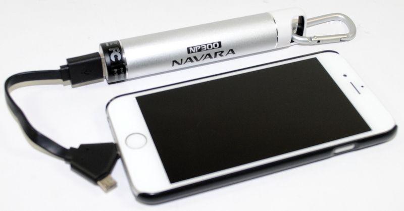 Nissan Navara Np300 Portable Power Bank 2600mah Smart Phone Charger Nn09 Portable Power Bank Portable Power