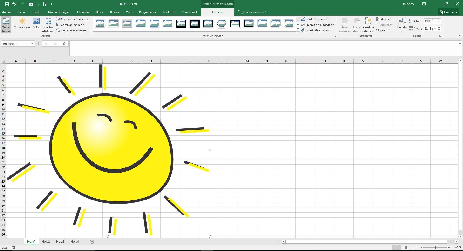 Anadir Una Imagen A Excel