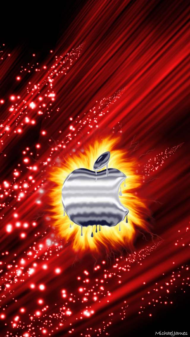 Fire Apple 640 X 1136 Wallpapers Available For Free Download Apple Iphone Wallpaper Hd Apple Wallpaper Apple Logo Wallpaper Iphone
