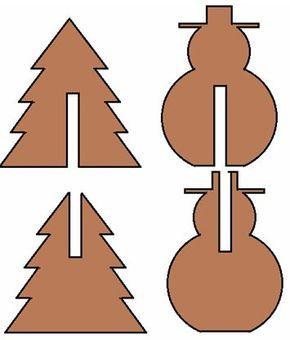 Weihnachtsdekoration Bauzeichnung 1 #decorationnoelfaitmain
