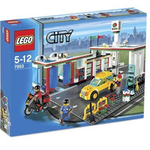 Lego City Service Station Limited Edition 7993 Lego Http Www Dp B000ubqsku Ref Cm Sw R Pi Dp Fo6ot Lego City Lego City Sets Lego City Helicopter