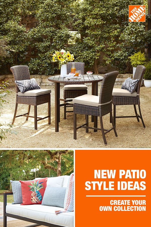 Look no further for backyard patio ideas. With over 500 ... on Home Depot Patio Ideas id=93794