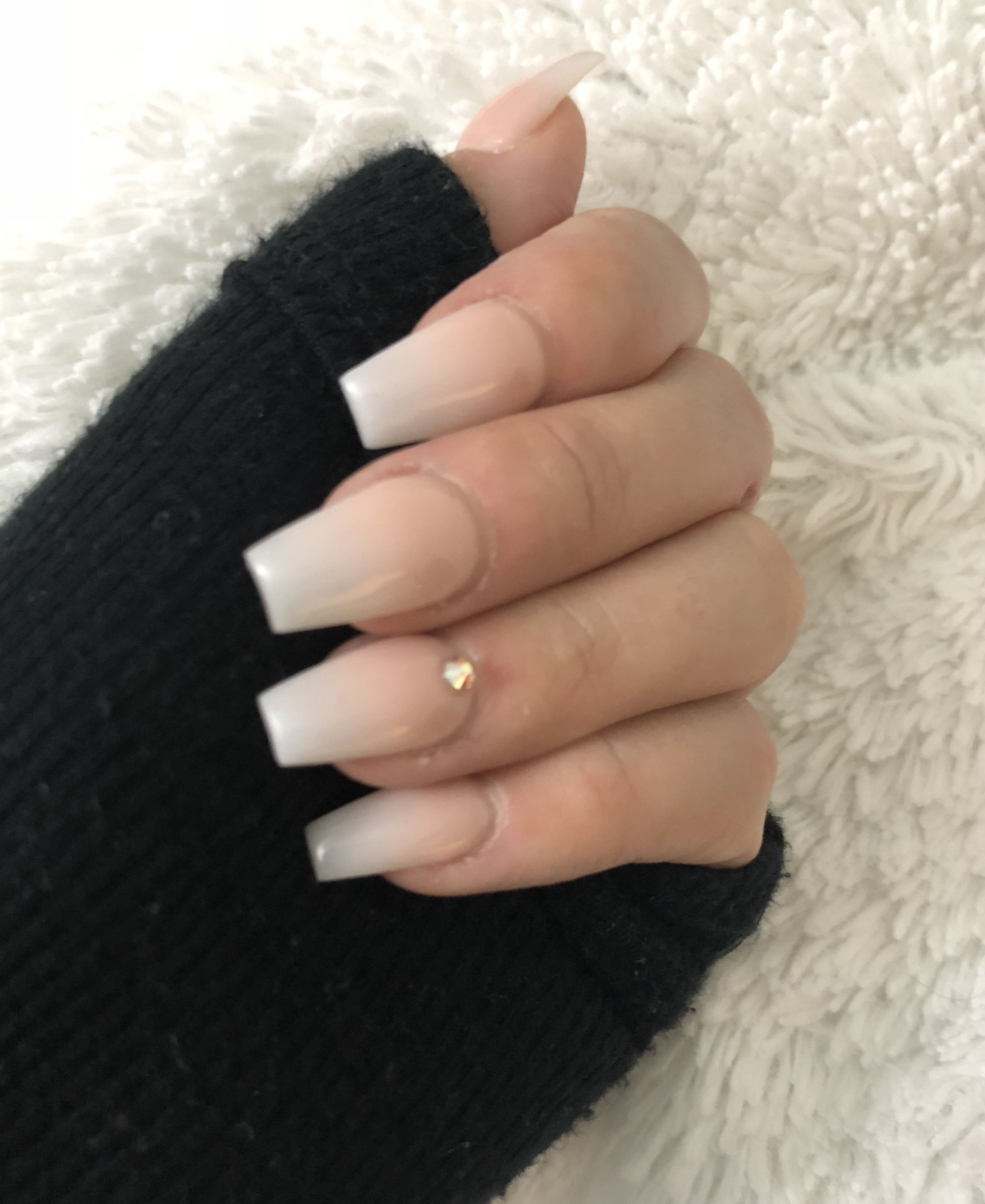 89 The Best Natural Ombre Nails Manicure Ideas You Must Try 57 Elroystores Com Cute Acrylic Nails Simple Acrylic Nails Faded Nails