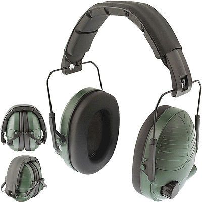 Stereo electronic ear defenders green #protector #shooting hunting #padded headba,  View more on the LINK: http://www.zeppy.io/product/gb/2/371480739049/