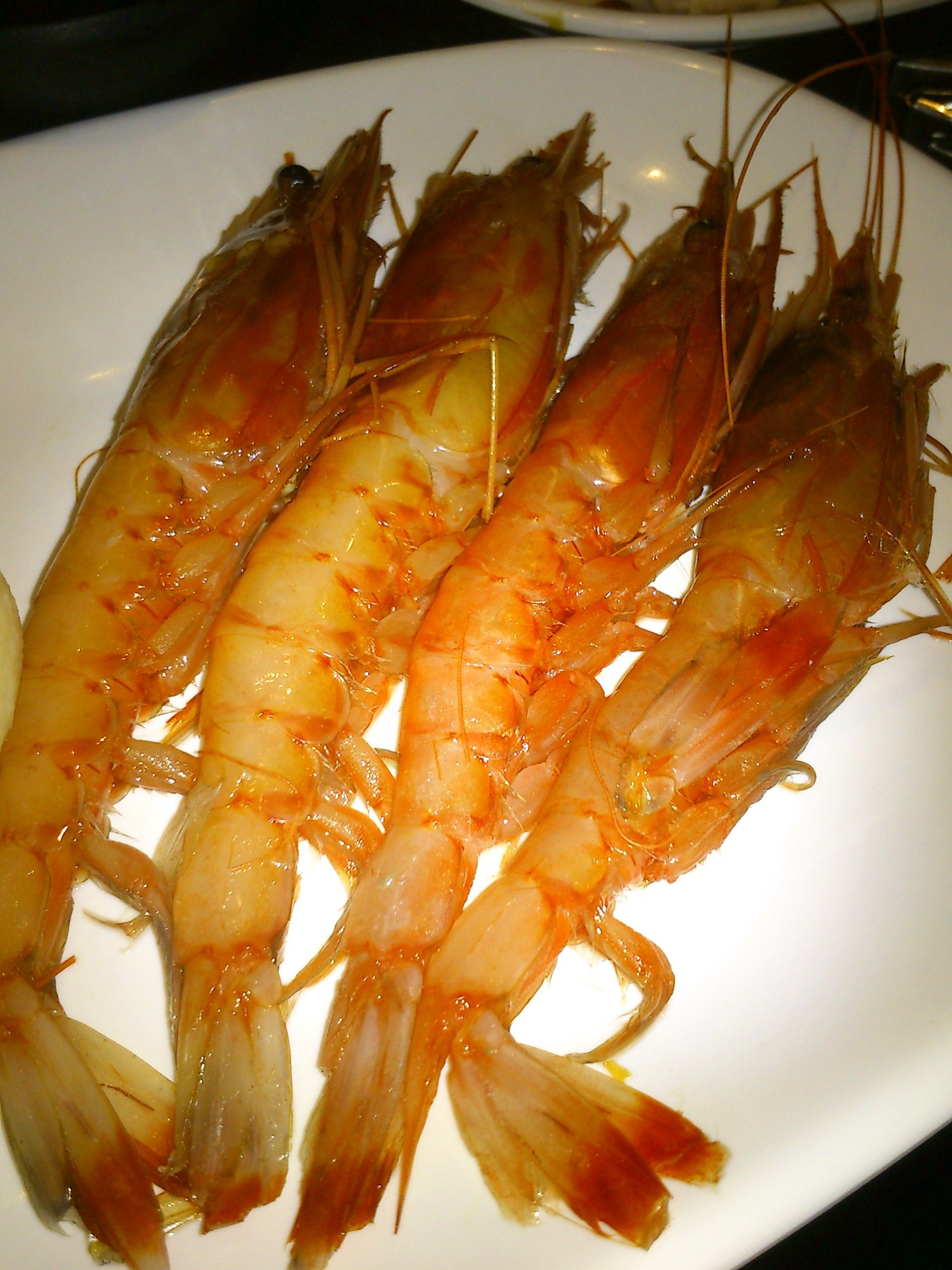 @八海 a.k.a. hakkai hotpot restaurant. special made shrimp, really tasty!