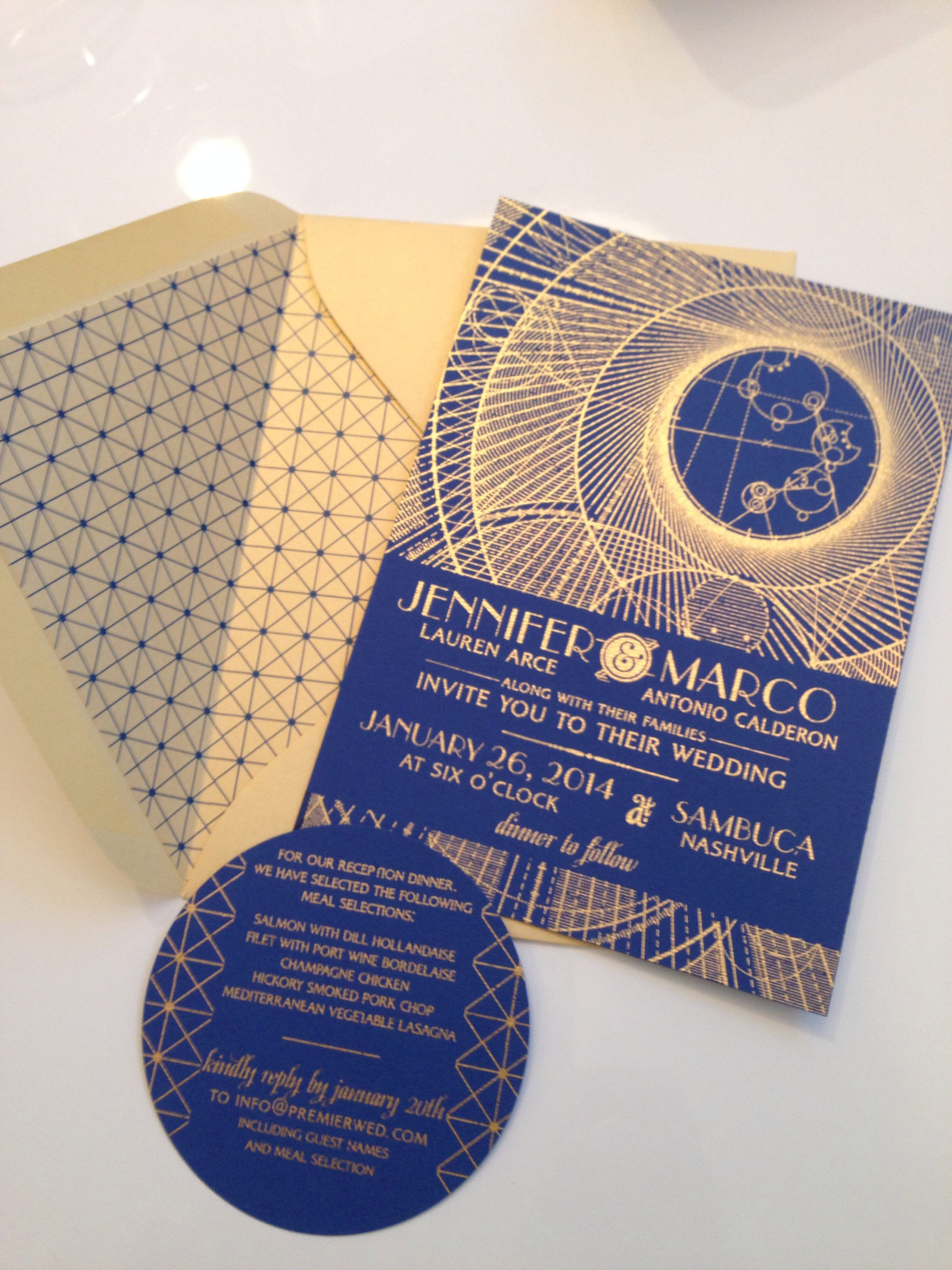 Premierwed Com Dr Who Wedding Invitation Gallifreyan Blue