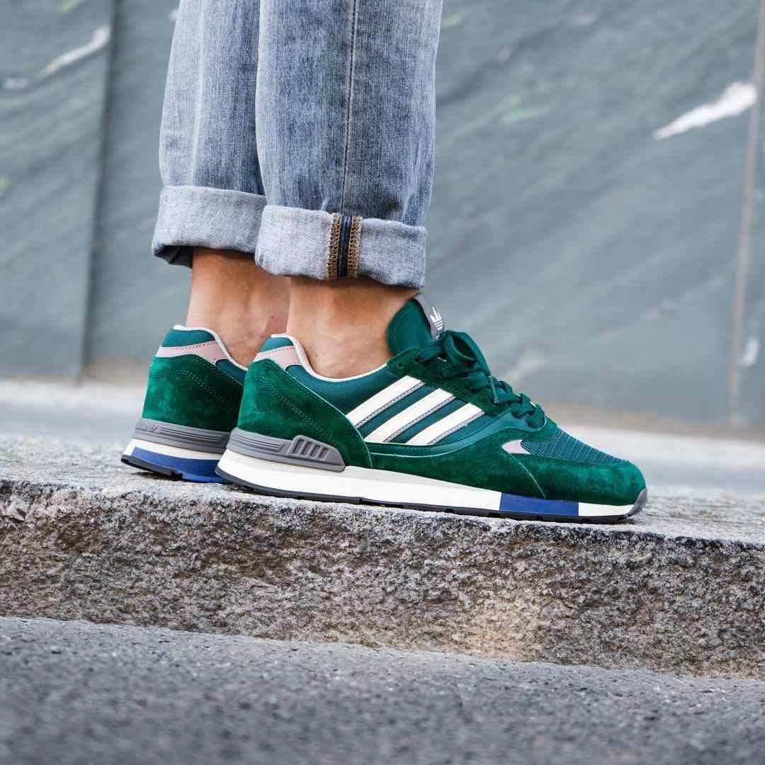 Adidas Quesence Green / White Credit : Overkill — #adidas ...
