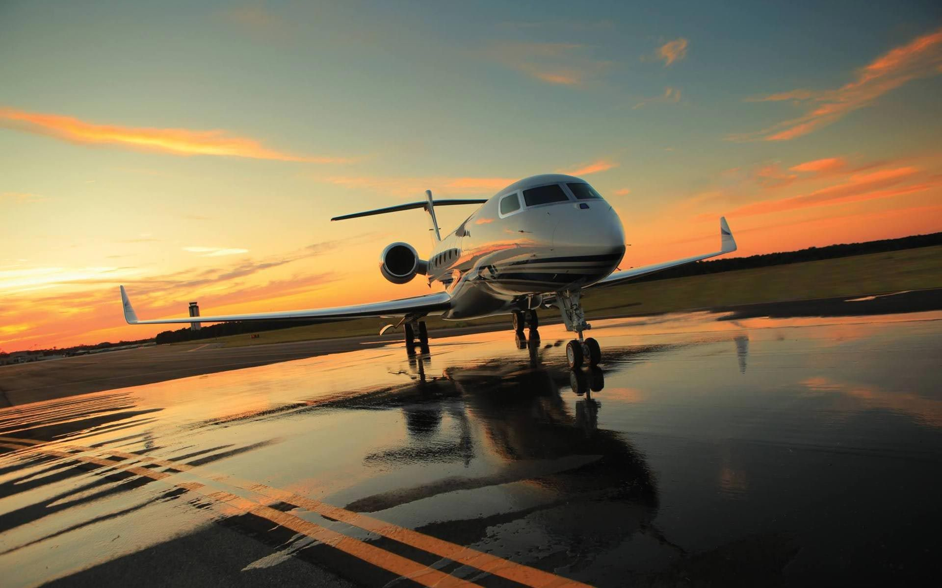 Private Jet Landed Wallpapers HD Artsy Pinterest