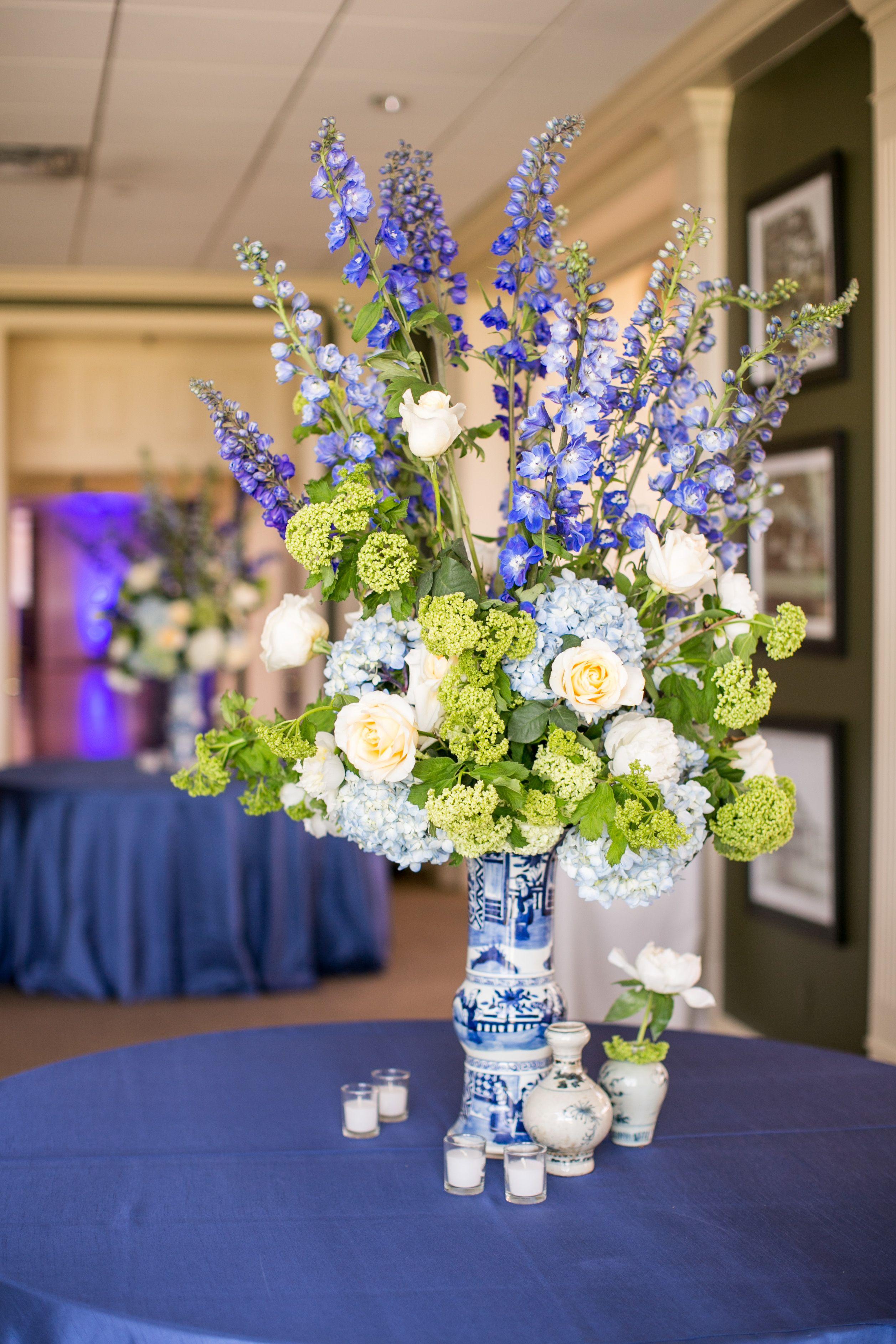 Floral arrangement flowers wedding reception tipton