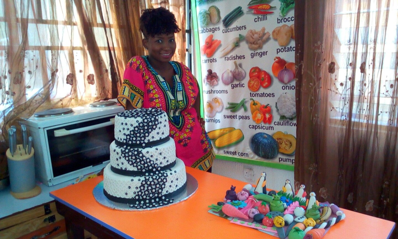 Wedding Cakes by #MumaCulinarySchool #Benuebaker