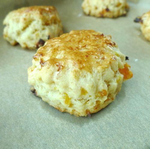 Apricot Sour Cream Scones Sour Cream Scones Food Processor Recipes Scones